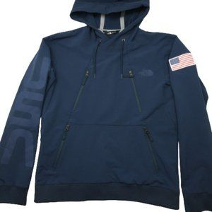 The North Face Olympic USA Flag Tech Hoodie Small